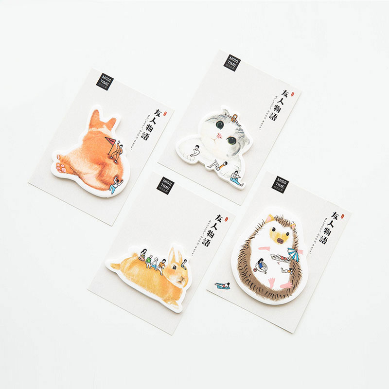 1 pcs Our friendship memo pad paper stickys notes post notepad kawaii stationery papeleria school supplies