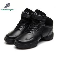 Купить с кэшбэком Zuoxiangru Dance Shoes Women Jazz Hip Hop Shoes For Woman Sneakers Salsa Ballroom Dance Shoes Latin Wedge Sneakers