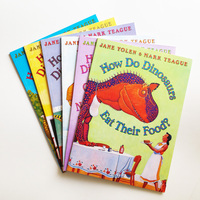 A4 Size How Do Dinosaurs Series Books A Set Of 6 Volumes For Children English Edition