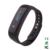 E02 Moda Pulsera Deporte Pulsera Poligrafía Podómetro Inteligente Reloj Bluetooth Para IOS Android Para El Hombre de la Mujer
