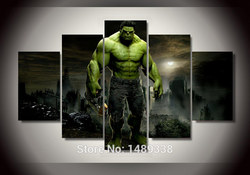 Framed printed hulk movie group painting children s room decor print canvas art wall decor landscaping.jpg 250x250