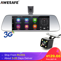 7 3G Touch Special Car DVR Camera Mirror GPS Bluetooth 16GB Android 5 0 Dual Lens