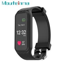 L38i Смарт Группа Браслет сердечного ритма Мониторы Bluetooth 4.0 полноцветный TFT-LCD Экран для IOS телефона Android