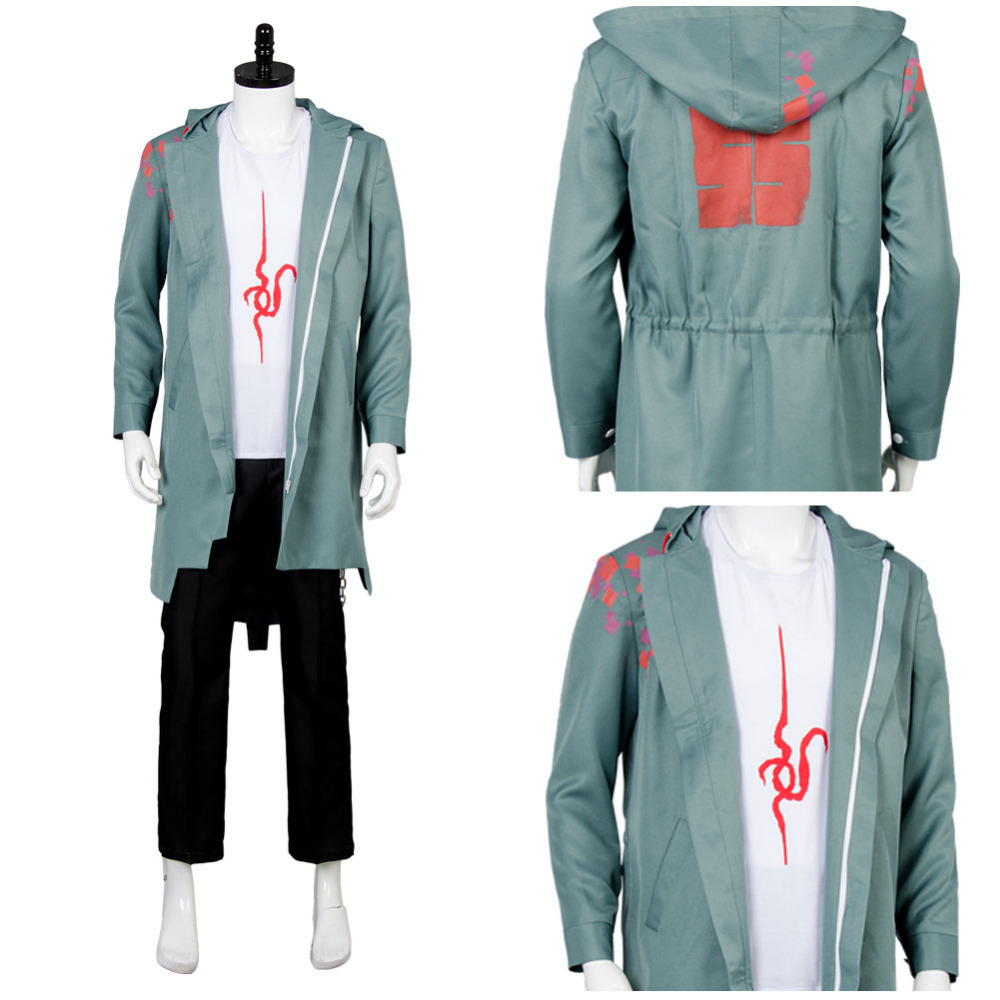 Super Danganronpa 2 Nagito Komaeda Nagito Jacket Cosplay Costume Full Set