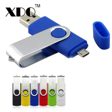 2017 crazy hot whirling OTG usb flash drive 32GB 64GB 128GB pendrive waterproof 16GB memory stick 8GB u disk for Android phones