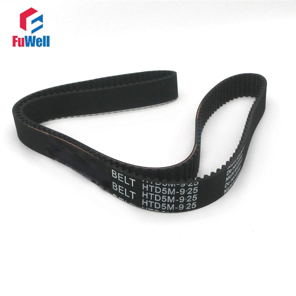 HTD5M Timing Belt 925/950/960/1000/1050/1080/1100/1125/1145/1175-5M 15/20/25mm Belt Width Toothed Belt Rubber Timing Pulley Belt belt