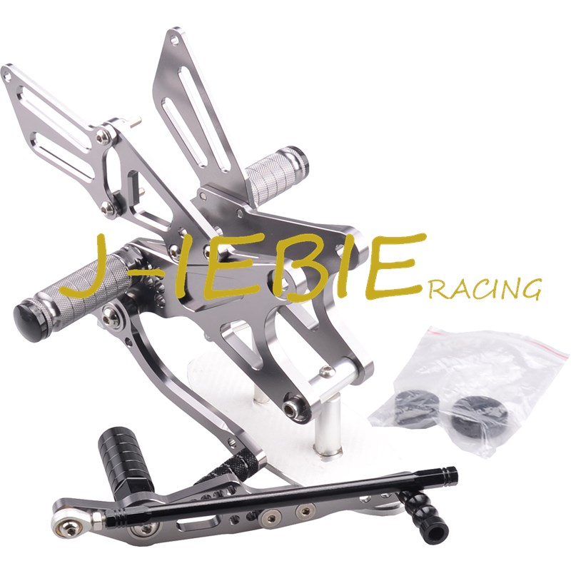 CNC Racing Rearset Adjustable Rear Sets Foot pegs Fit For Yamaha YZF R1 2009 2010 2011 2012 2013 2014 TITAINUM motorcycle fz1 fz8 adjustable rearset rear set foot rests foot pegs for yamaha fz1 2006 2014 and fz8 2010 2011 2012 2013 new