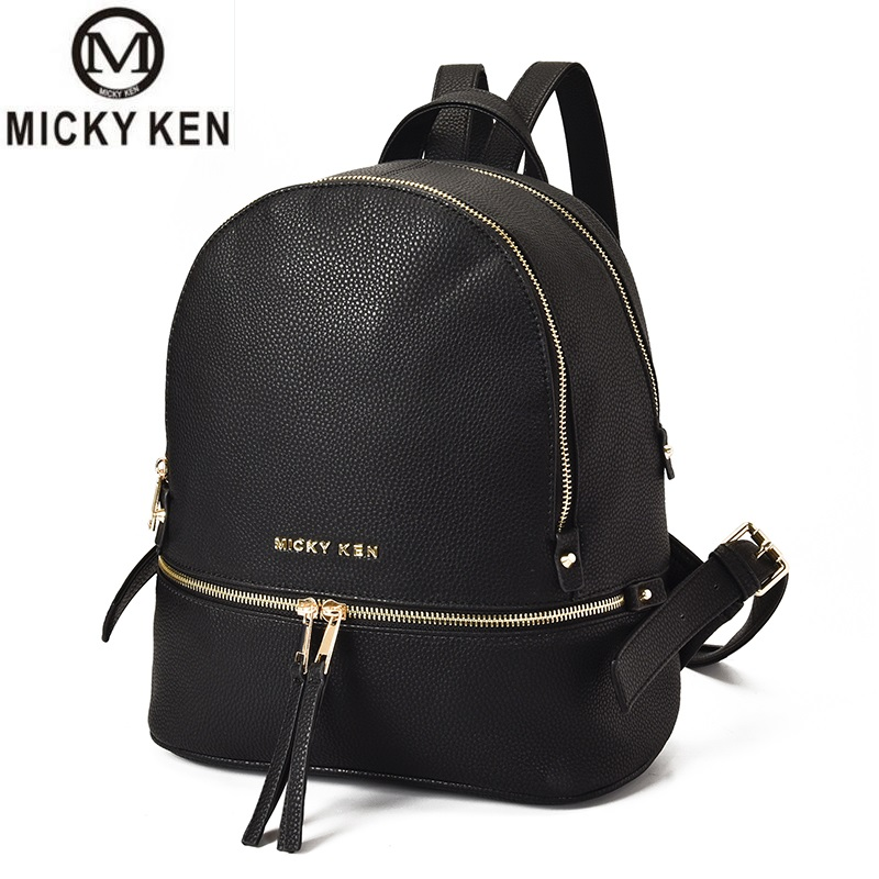 Luxury Backpack Women Bags Designer Bolsos Mujer Teenager Girls Satchels Women Fashion Backpacks Pu Leather Bag Sac A Dos