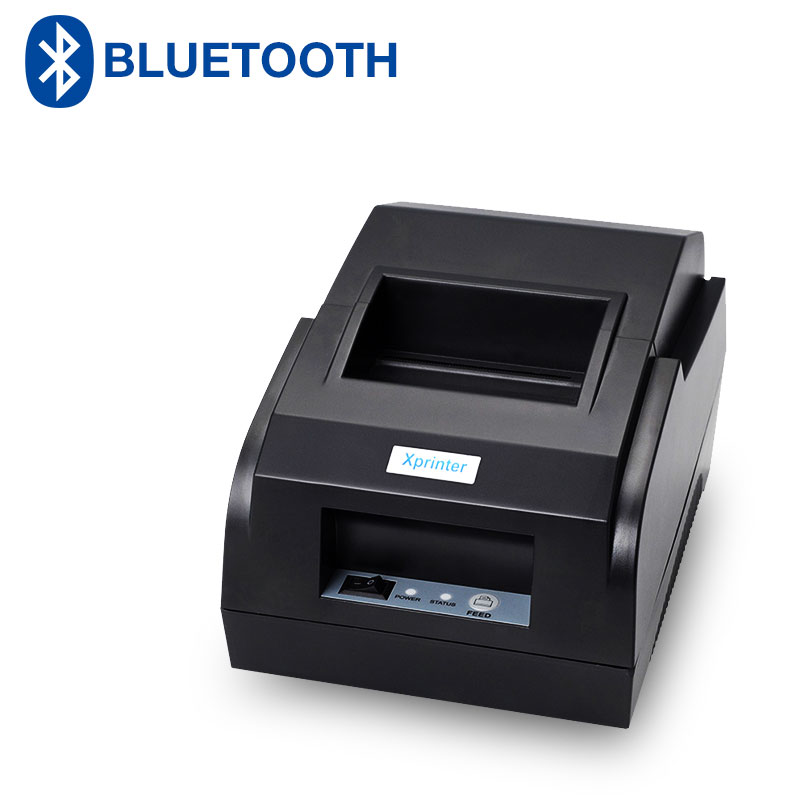 Bluetooth POS Printer 58mm Thermal Receipt Printer Same Support for 6 android and 7 iOS Bluetooth