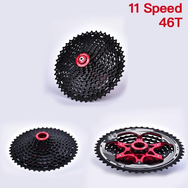 MTB велосипед полый кассета 11 скорость 11-46T маховика 33 скорость высокая прочность пригодный для носки горный велосипед кассета велосипедных частей