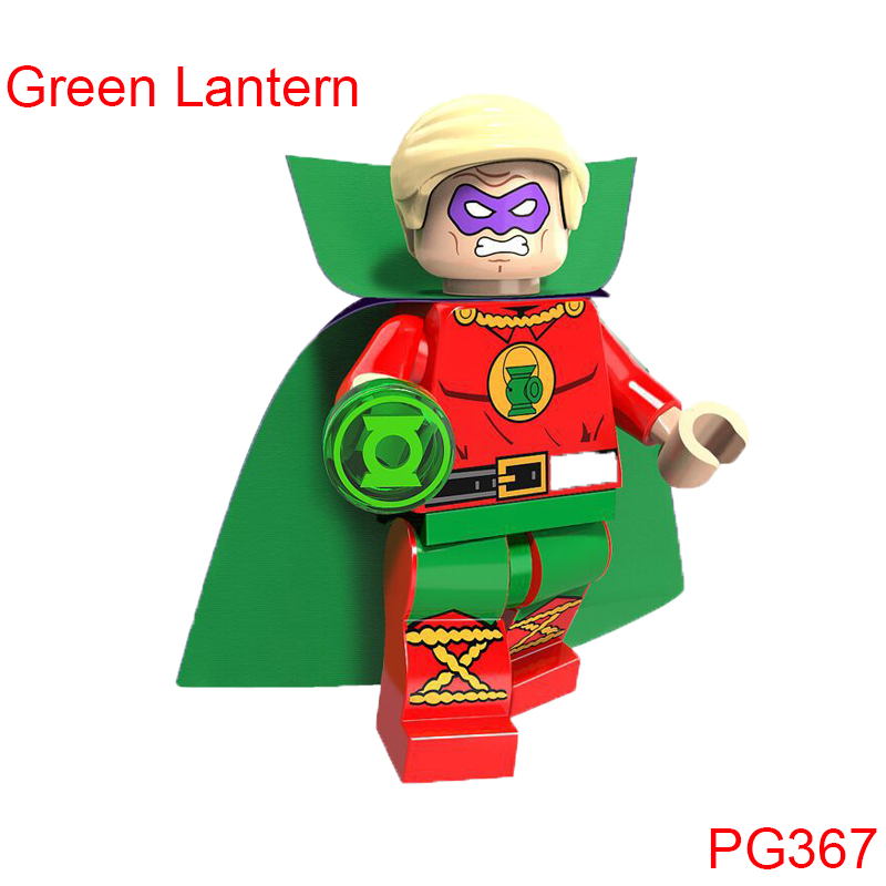Single Sale Super Heroes Blink Mar-Vell Comic Spawn Joker Rorschach Green Lantern Building Blocks Children Gift Toys