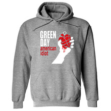 GREEN DAY Printed Punk Rock Hoodies Men Women Fleece Long Sleeve Hip Hop Sweatshirt Pullover Cool Streetwear Skateboard Hoody