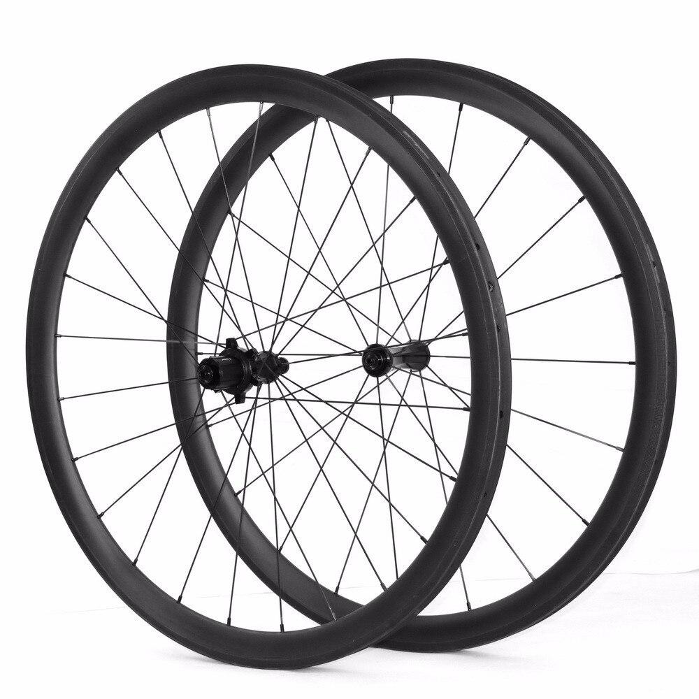Carbon bike 700c Carbon bicycle Wheels 38mm Clincher U sharp rims 23mm 25mm width Carbon Road Bike Wheelset carbon wheels 700c 88mm depth 25mm bicycle bike rims 3k ud glossy matte road bicycles rims customize carbon rims