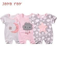 ФОТО joyo roy baby boys&girls summer wear short sleeve romper suit cotton pajamas&jumpsuits infants 6-18 m baby clothes dj0034r