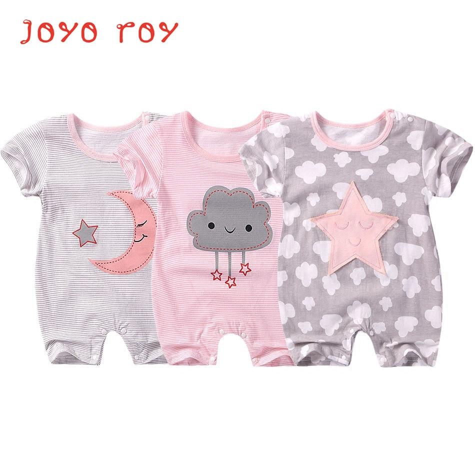 Joyo roy Baby jongens & meisjes zomerkleding korte mouw rompertje - Babykleding - Foto 1