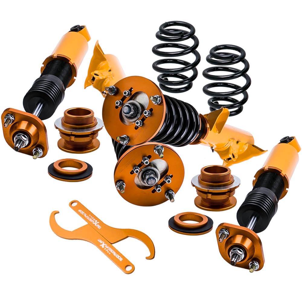 Coilovers Suspensão Coilover Kit completo Para BMW E36 3 Series 320i 323i 325i M3 318tds Sedan Coupe Amortecedores redução strut