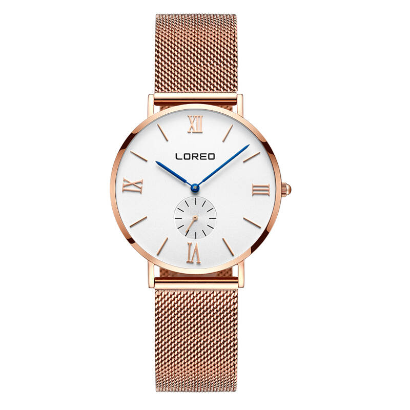 LOREO 5108 Germany bauhaus watches lover luxury brand newest best sapphire glass thin section waterproof Korean version bauhaus