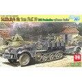 Escala dragão modelo 6711 1/35 escala Sd veículo tanque. Kfz.10 / 4 w / conjunto Flak 30 escala kits modelo de construção kits modelo escala