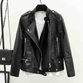 2017 Luxury Brand Female Automotive Biker Leather Jackets Outwear Wholesale Autos Natural Leather Jackets For Women Cheap C392