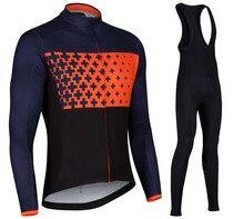 2017 Hombres Ciclismo Jersey ropa Ciclismo MTB Larga Ropa bicicleta Ciclismo apretado Jersey de bicicletas Ropa Talla XS-4XL
