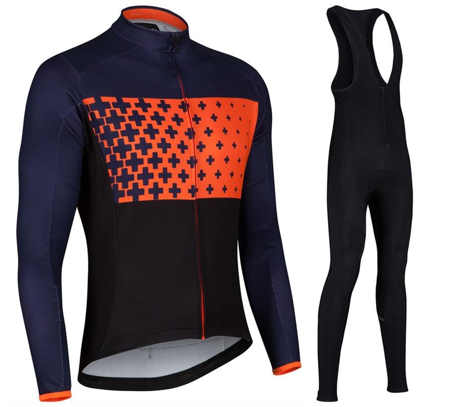 2017 Men Cycling <font><b>Jersey</b></font> Ropa Ciclismo MTB Long Clothing bicicleta Cycling tight bicycle <font><b>Jersey</b></font> Clothing Size XS - 4XL