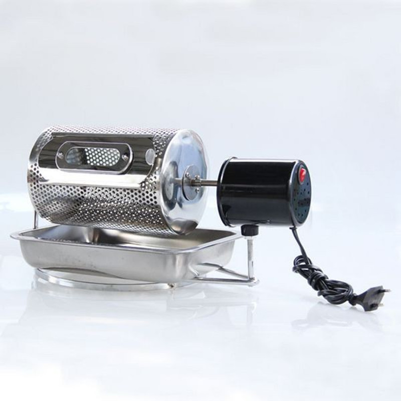 Home use coffee bean roaster machine stainless steel coffee peanuts nuts roasting machine 110V 220V