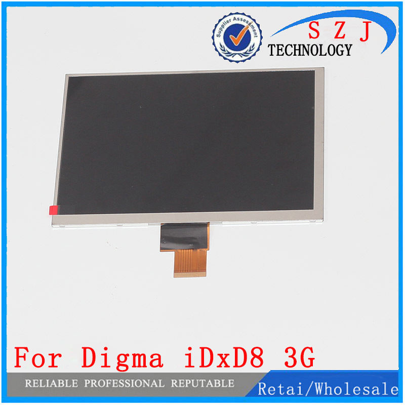 New 8'' inch LCD Display For Digma iDxD8 3G IDxD 8 Tablet TFT LCD Screen Glass Digital Panel Screen Replacement Free Shipping