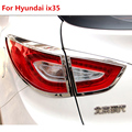 ABS хромированный чехол для фар Hyundai ix35 2010-2015