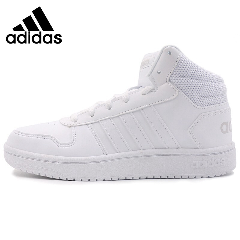 Original New Arrival 2018 Adidas NEO Label HOOPS 2.0 MID Women's Skateboarding Shoes Sneakers