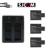 Apresurado 3x batería sj4000 sjcam sj5000 sj6000 baterias cargador doble para sj 4000 5000 6000 sj7000 sj9000 accessaries cámara