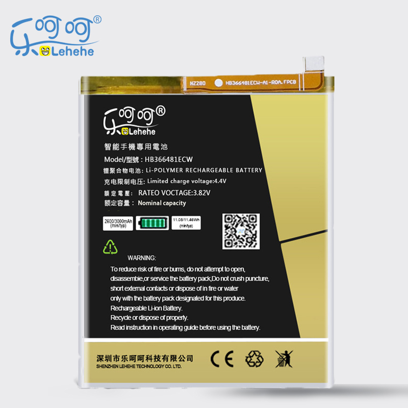 LEHEHE <font><b>Battery</b></font> HB366481ECW for <font><b>Huawei</b></font> P9 Ascend P9 Lite G9 Honor 8 5C G9 <font><b>P10</b></font> Lite P20 Lite <font><b>Battery</b></font> with Tools Gifs image