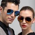 3026 Veithdia óculos de Sol dos homens tão Real óculos de Sol Polarized Oculos Gafas de Sol Occhiali Da Sole Uomo Tinize Retro esporte Sunglass