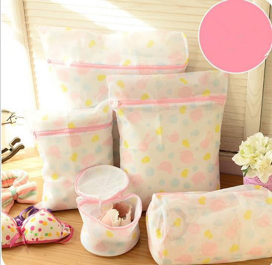1 Set x Home Laundry Mesh Washing Bags For Delicates BrasLingerie And Luxury Garment