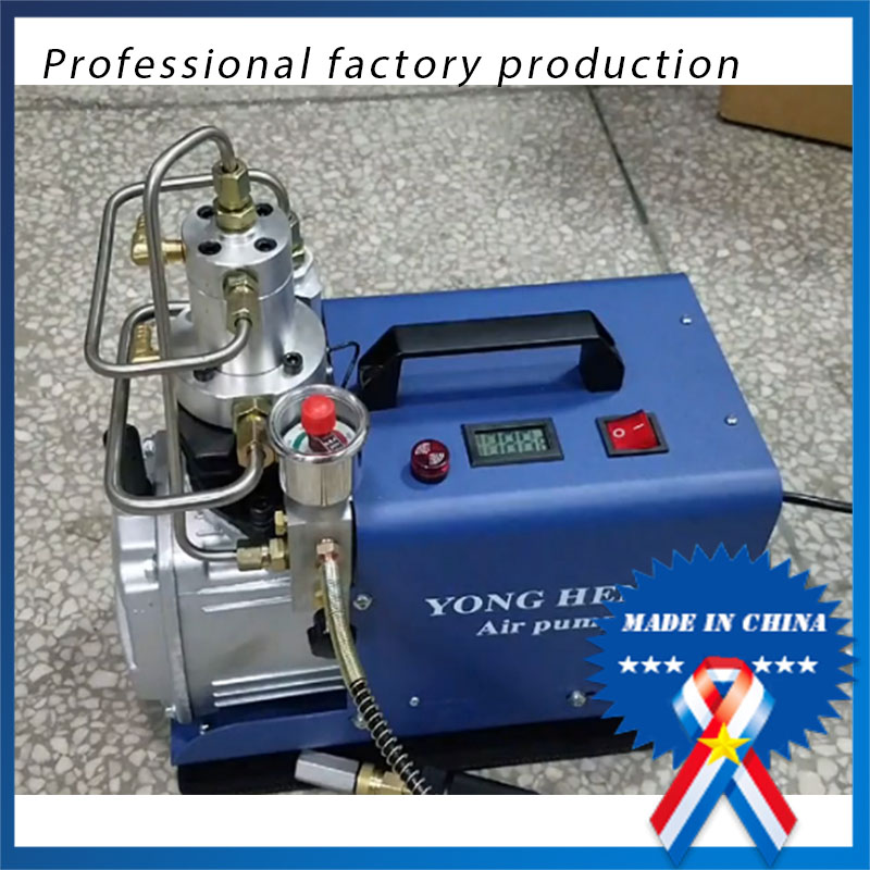 4500PSI 300 Bar Electric High Pressure PCP Rifle Air Pump Water Cooling Airgun Scuba Air Compressor