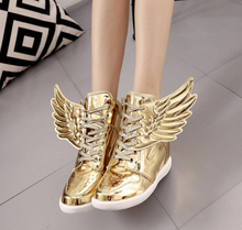 Free shipping  2017 Women 's Fashion casual shoes Wings shoes Fashion leisure Women flat shoes zapatis mujer sell like hot cakes