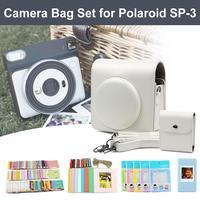 New Square Film Album Camera Bag Set Accessories With Photo Album Camera Case Bag Photo Frame For Fujifilm Instax Square SQ6