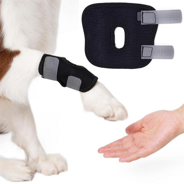 8842d0e98c 2PC/Pack Dog Legs Brace Injury Anti-lick Arthritis Fixation Restoration  Auxiliary Strap Front