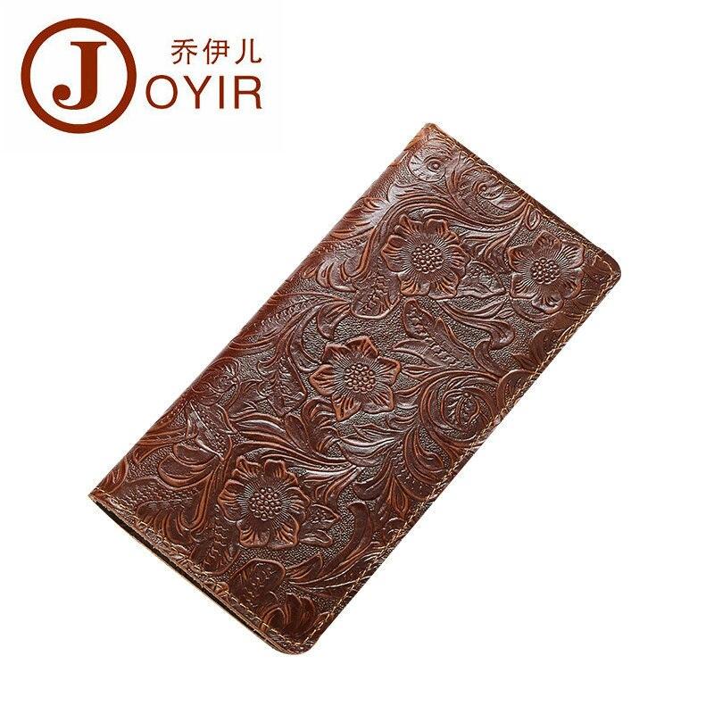 JOYIR Vintage Women Men Genuine Leather Passport Cover Travel Passport Holder Bag Luxury Crazy Horse Wallet License Card Holder