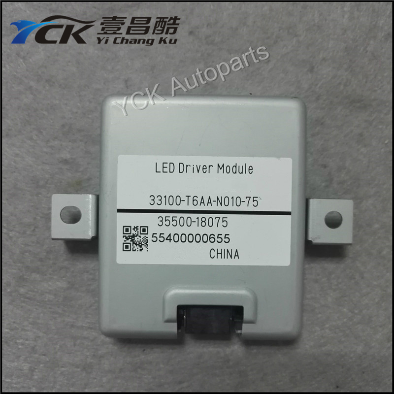 Wholesale Original  LED Driver 35500-18075 3550018075 55400000655 (Genuine and Used / 1PC) 1pc original q5 led driver led headlight drl ballast 8r0 907 472 b 8r0907472b 10045 17078 genuine and used