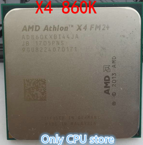 Desktop-Cpu X4-860K Athlon X4 Fm2  Quad-Core-Socket 95W Best-Quality