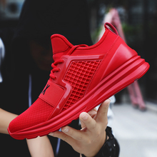 New Running Shoes For Men Male Sport Shoes Air Mesh Fabric Sneakers Outdoor Training chaussure sport homme baskets homme