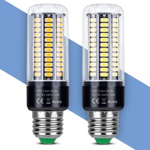 LED Lamp E27 Led 220V Corn Bulb E14 Light Bulb 5736 SMD Corn Lights 110V 3.5W 5W 7W 9W 12W 15W 20W High Power LED Lamps For Home цена в Москве и Питере