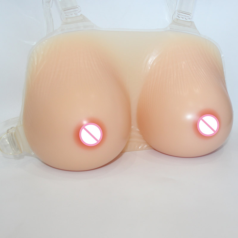 Best design new artificial sexy fake silicone breast forms for cross dresser false big boobs drag queen 1500g/pair free shipping free delivery cheap price promotional 1400g pair plump sexy fake silicone breasts forms for cross dressers or women enlarge