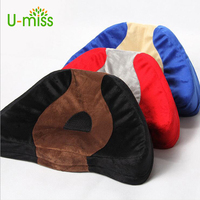 U Miss Orthopedic Memory Foam Soft Plush Seat Cushion For Chair Car Office Home Bottom Seats