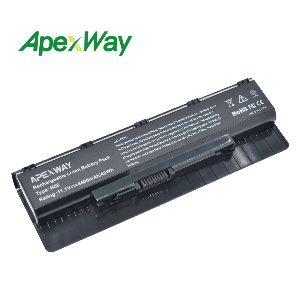 4400 Mah Laptop Batterij Voor Asus N76 N76v N76vb N76vj N76vm N76vz R401 R401j R401jv R401v R401vb R401vj R401vm R401vz R501 R501d Laatste Mode
