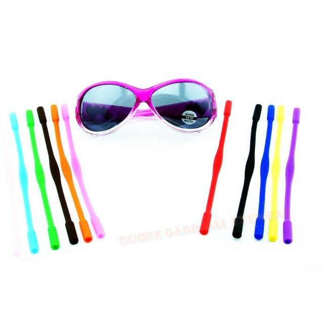 f6dbc85d1f3b3 Kid haute élastique anti-dérapant Silicone lunettes de soleil cordons enfants  lunettes chaîne cordon titulaire