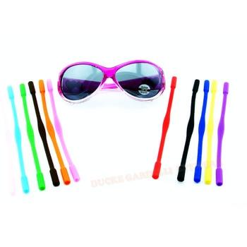 kid High Elastic Anti Slip Silicone Sunglasses Glasses cords children Eyeglasses chain cord holder String Rope 12 colours 0507