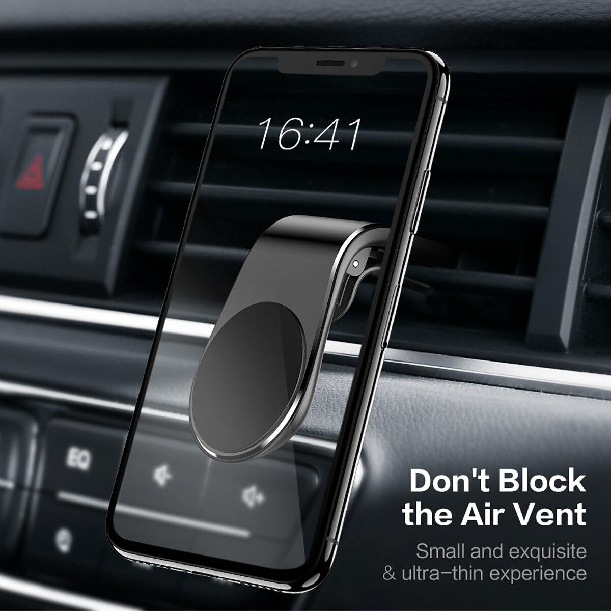 Minimalist Magnetic Car Phone Holder 1