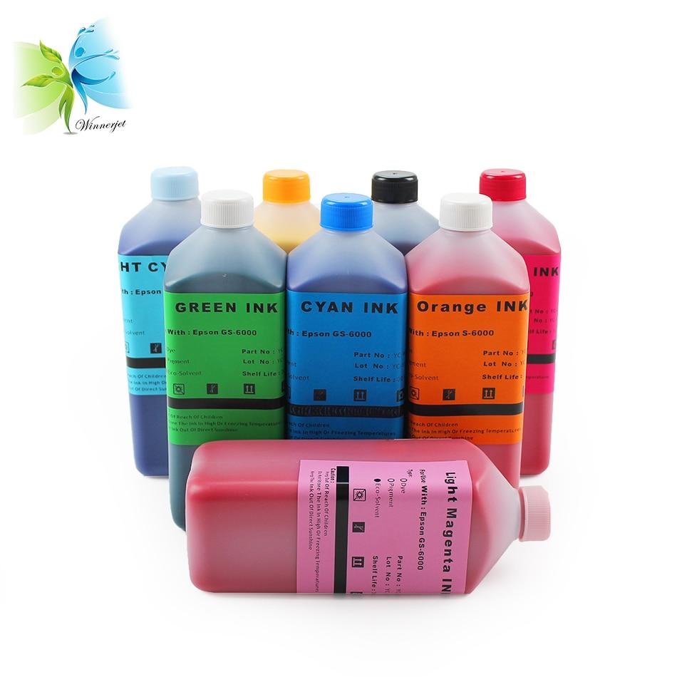 8 Color bulk Eco solvent ink for Epson GS6000 printer