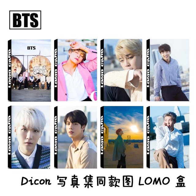 US $2 01 24% OFF|30 Pcs/set KPOP BTS photocards Bangtan Boys LOVE YOURSELF  Answer Album Transparent HD photo cards new arrivals-in Stationery Set from